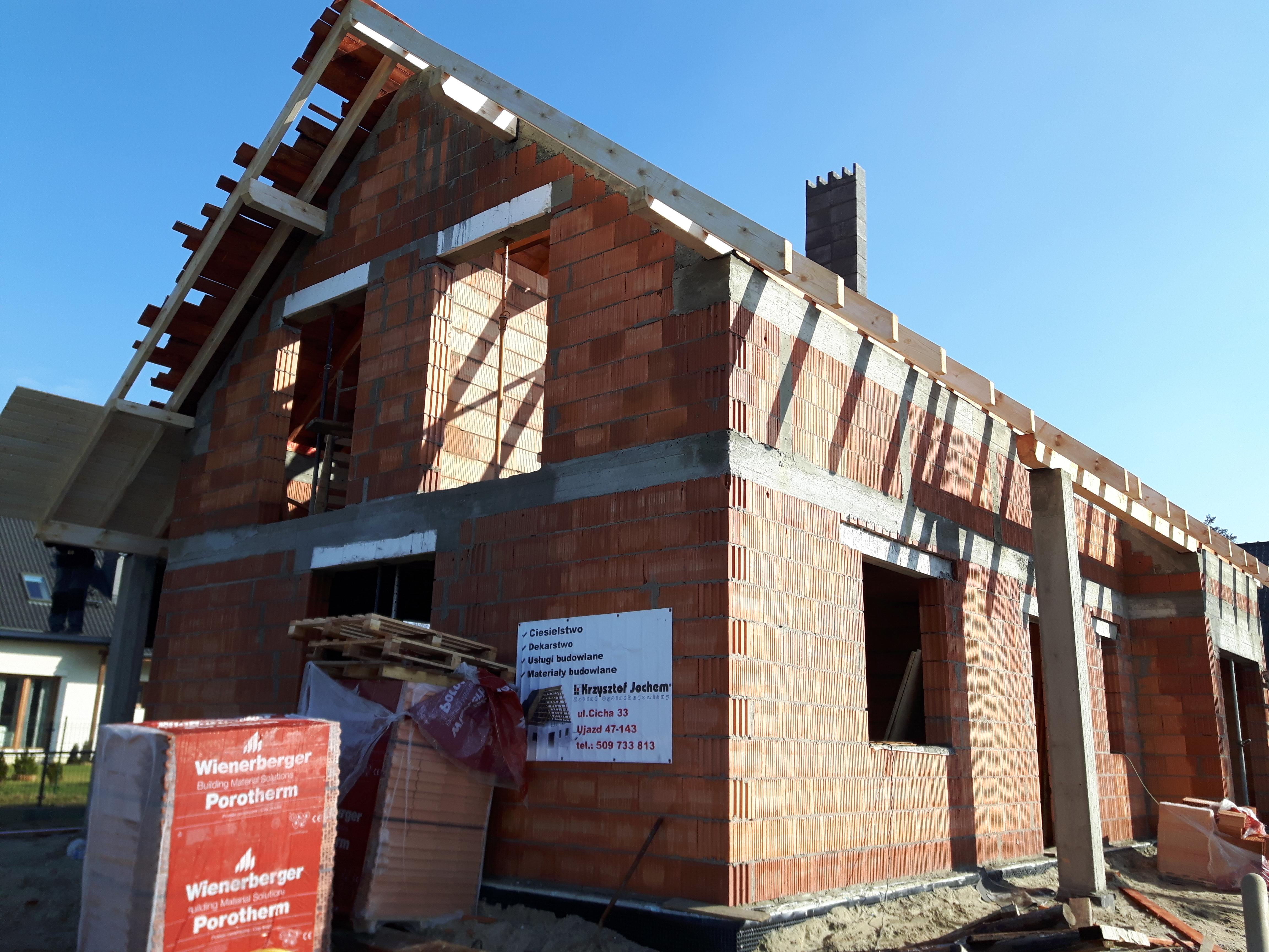 Budowa domu w Pyskowicach (1)