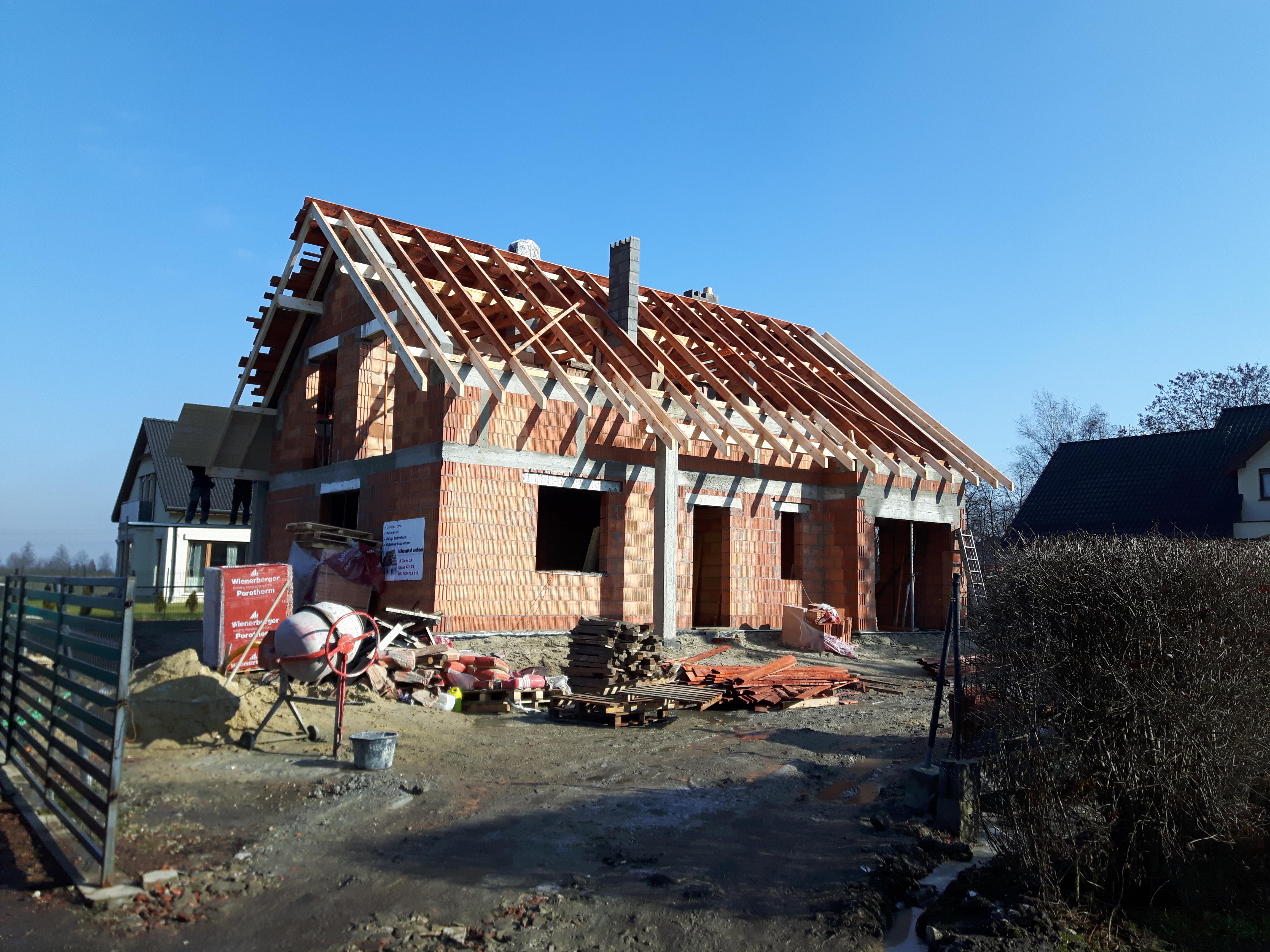 Budowa domu w Pyskowicach (2)